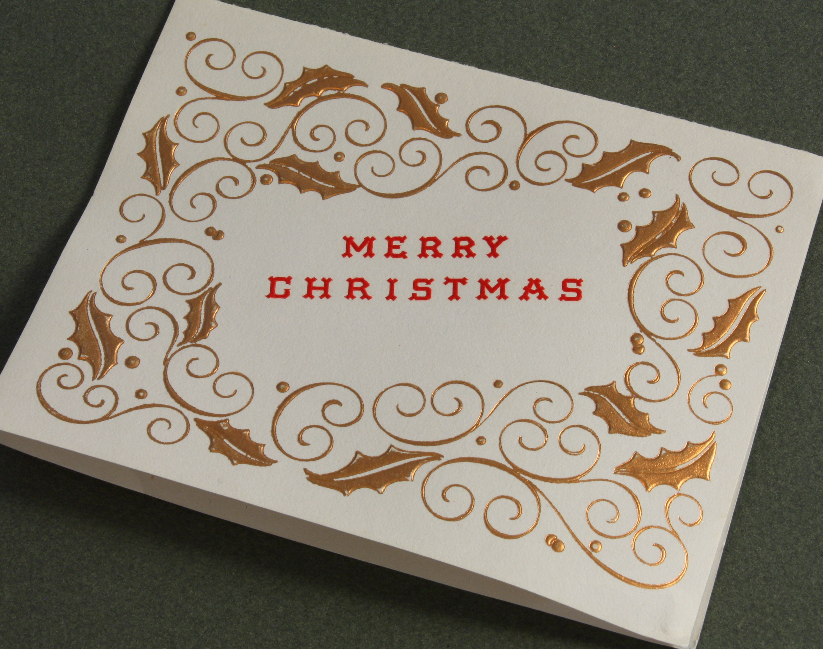 Vintage Holiday Cards from Crane's Christmas Past
